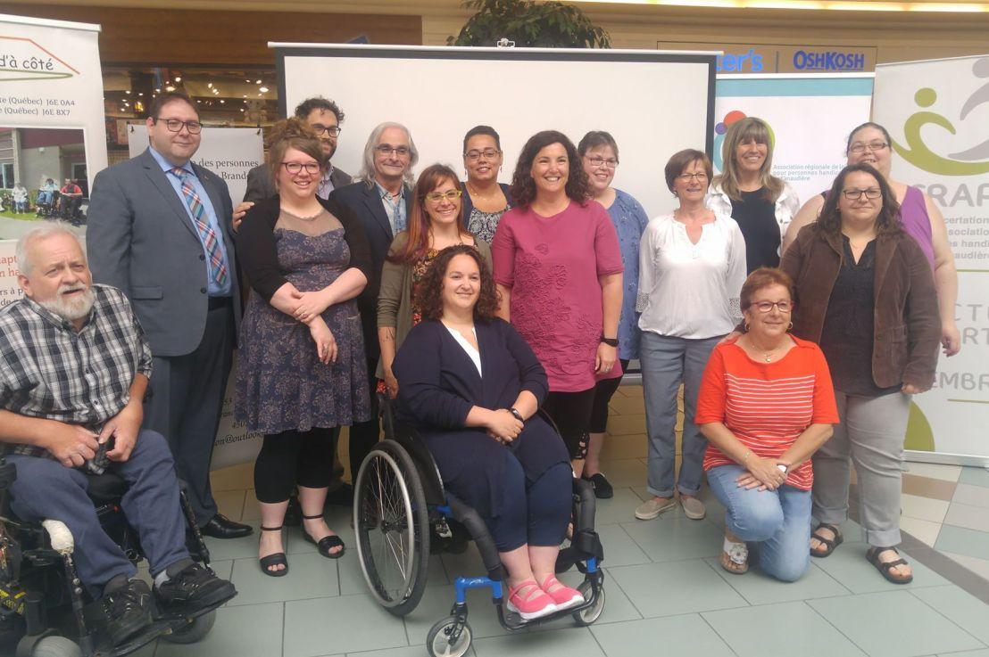 Semaine québécoise des personnes handicapées Campagne régionale de sensibilisation pour vaincre lespréjugés