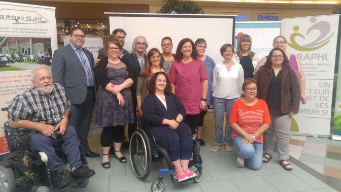Semaine québécoise des personnes handicapées Campagne régionale de sensibilisation pour vaincre les préjugés